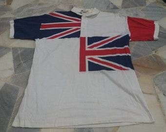 Rare union jack flag shirt