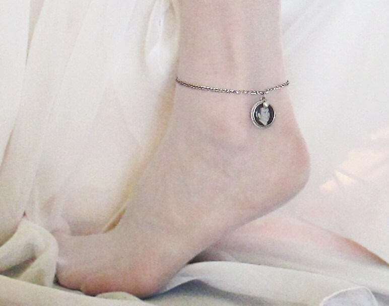 anklet a this tiny charm different ankle add tattoo for milestones pin bracelet love