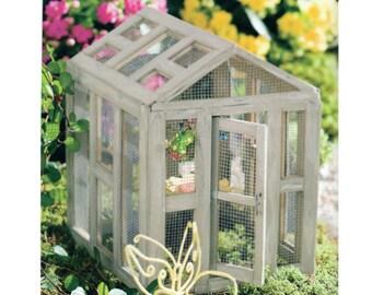 Schmetterling Haus Fee Accessoire ~ Miniatur-Schmetterling-Struktur für Feen ~ kleine Accessoires in Miniatur Gartenarbeit ~ Feengarten Versorgung