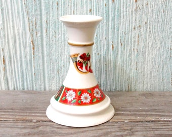 Kobe Ceramic Christmas Candlestick Candle Holder for Tapers Charlton Hall Collection