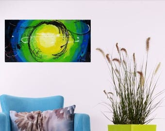 New Galaxy, painting abstract, contemporary art, acrylic
