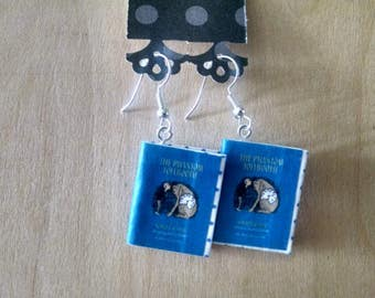 Book Earrings / Phantom of the Tollbooth Book Earrings / Gift for Her / Book Lover Gift / Book Jewelry / Book Earrings / Earrings / Books