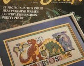 For the Love of Cross Stitch Magazine, Sept 1994, Vintage