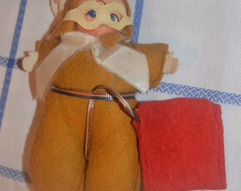 Original WW2 Pat Parachute female pilot doll, complete with box, WASP?