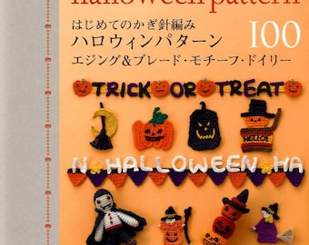 CROCHET Halloween Pattern 100 - Japanese Craft Book