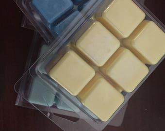 BUY 5 soy wax melts - tarts, soy tart, wax tart, clam shell, xmas, stocking fillers