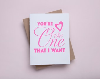 You're The One That I Want - Neon Pink