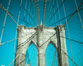 New York Print, Brooklyn Bridge, Art Print, Fine Art Photography, Wall Art, Sunrise, Architecture, Travel Photography, Large Wall Decor, NYC