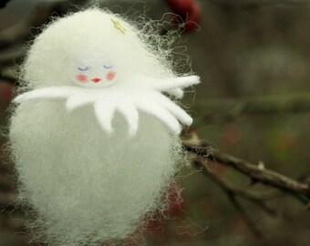 Snowflake fairy wool Waldorf