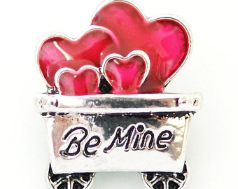 KB8188 Be Mine Wagon Filled With Hearts