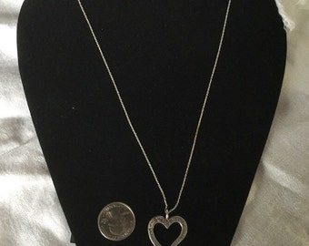 Sterling Silver Heart Pendant Chain What you cannot imagine.....I will be that