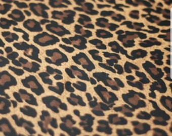 Jaguar Print Poly Spandex Stretch Fabric