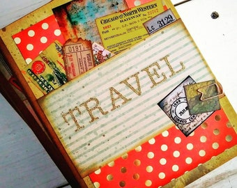 Travel Journal with Unlined Pages