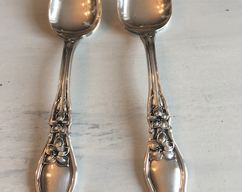 Vintage WM Rogers&Son AA Citrus Spoons ~ Silver Plated Spoons ~ 1910 ~ Vintage Silverware ~ Old Flatware ~ Replacements ~ Fruit Spoons