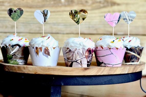 Realtree™ Camo Cupcake Wrappers - Realtree AP, Max 4, Realtree Pink, XtraGreen!