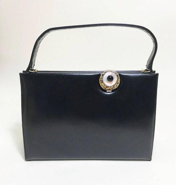 Viki Original Brooch Closure Handbag