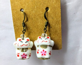 Maneki-Neko Earrings