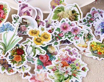 26 Pieces of Flower Bouquet Stickers - Journal/Planner/Scrapbooking