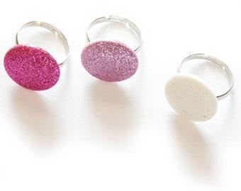 SALE Glitter Dot Ring