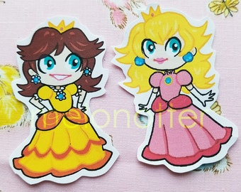 Princess Peach and Daisy Stickers