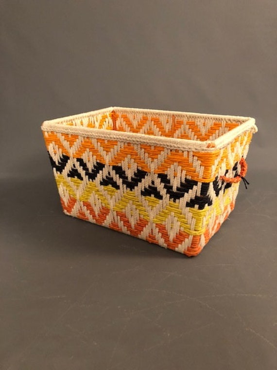 Multi Color New Basket Handmade Woven