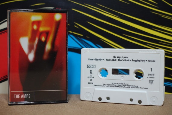 Pacer by The Amps Vintage Cassette Tape