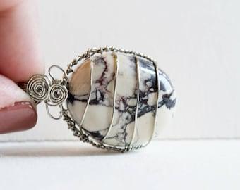 Porcelain Jasper Pendant