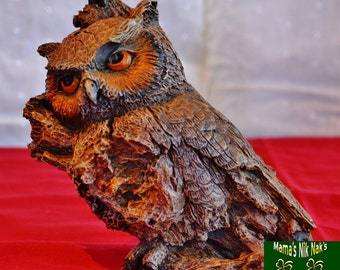 Owls, Statues, Gifts, Animals, Unique,