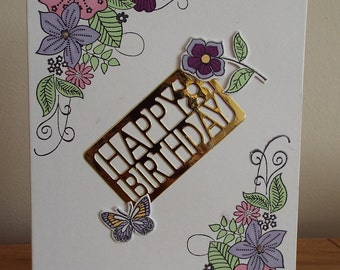 handmade, birthday, woman,