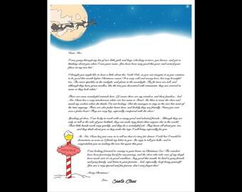 Custom Letter from Santa
