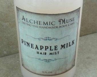 Pineapple Milk - Hair Mist - Detangler & Styling Primer - Limited Edition