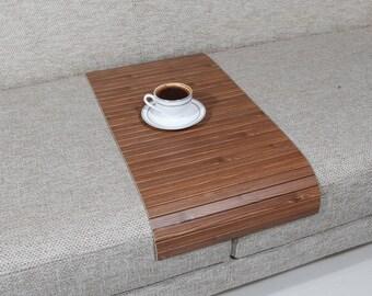 PROMO NOW! Sofa Arm Tray, Sofa Tray Table, Coffee Table, Sofa Table, Wood Tray, Sofa Arm Table, Gift, Home&Living, ROMC3060FF