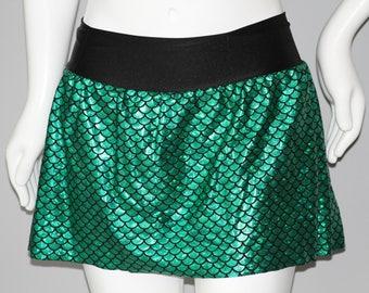 Mermaid Scale Running Skirt