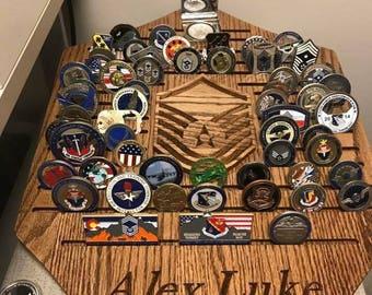 Custom Coin displays