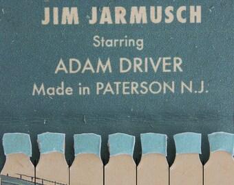 Paterson film poster, artwork by Jordan Bolton