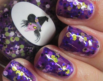 Halloween Witch Nail Polish