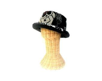 Bucket Hat Boho Hat Hippie Hat Hipster hat Bohemian hat Sun Hat gift