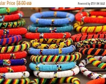 ON SALE AFRICAN Jewelry, African Bangles, Tribal Bangles, Bohemian Bangles, Bohemian Jewelry, Beaded Bangles, Wrap Bracelets, Cuff Bracelets