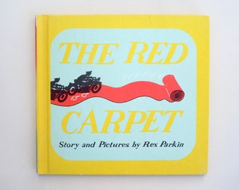 Collectible The Red Carpet by Rex Parkin Collectible Book Hardcover Macmillan Edition in Very Good Condition Mid Century Hotel Bellevue