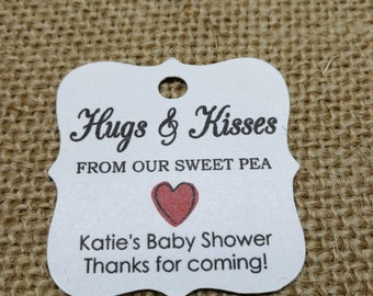 30 Baby Shower Tags, Bay Shower Favour Gift Tags