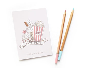 SALE Sweet Treats Colouring Book - 66% off