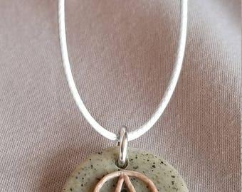 Delicate Pebble Pendant