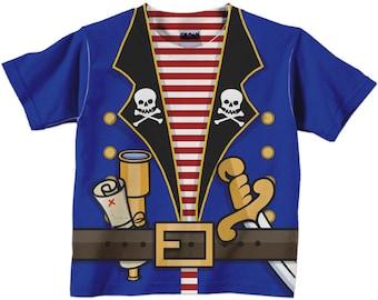 Personalized Pirate Shirt, Boys Pirate Birthday Shirt, Pirate T-Shirt