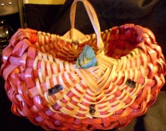 Vintage watermelon basket