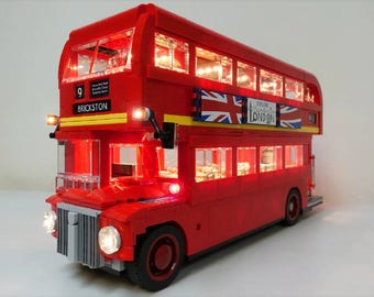 Lightup kits for Creator 10258-London Bus - (car not included)