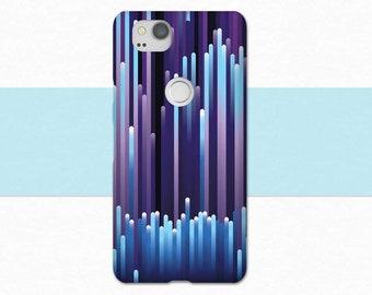 Abstract Google Pixel 2 Case, Purple Blue Pixel 2 Phone Case, Google Pixel XL 2, Original Google Pixel, Pixel Case, For Google Pixel 2