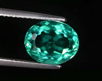 3.96 ctw. paraiba tourmaline loose gemstone.