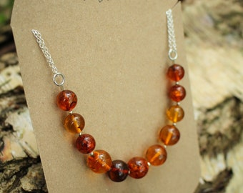 Anxiety Relief Genuine Amber Beads Necklace