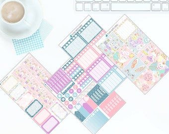 Happy Easter - Weekly Kit Stickers for Erin Condren Vertical LifePlanner *NEW PREMIUM PAPER!*