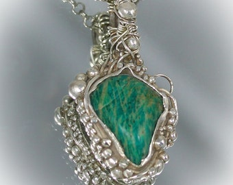 The Amazing Amazonite Pendant